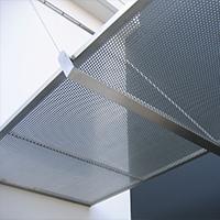 玻璃夹丝装饰网-浩通金属丝网