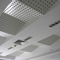 吊顶装饰网,艺术中心效果案例-浩通金属丝网