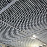 吊顶装饰网,办公楼效果案例-浩通金属丝网