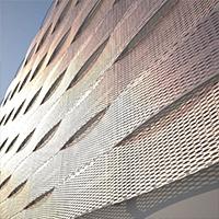 商场外墙钢板网装饰网-铝板拉伸装饰网-浩通金属丝网