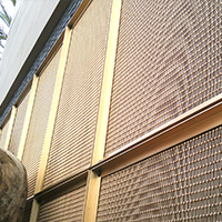 商场外墙金属编织编织装饰网-浩通金属丝网