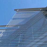 办公楼外墙幕墙装饰网-金属编织装饰网-浩通金属丝网