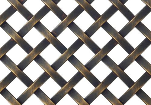 方格菱形隔断