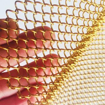 金属网帘细节展示