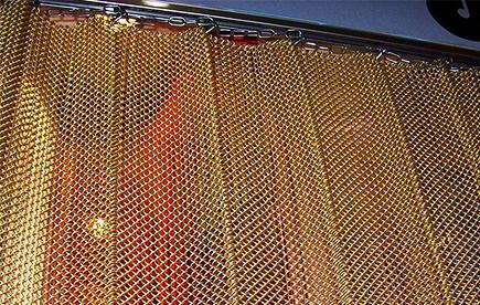 金属网帘效果展示