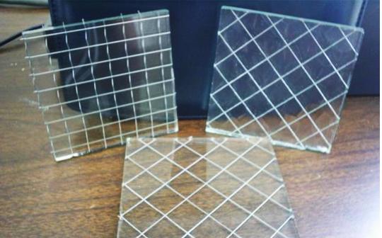 玻璃夹层装饰网细节展示