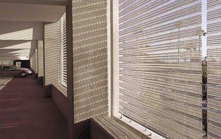 玻璃夹层装饰网效果展示