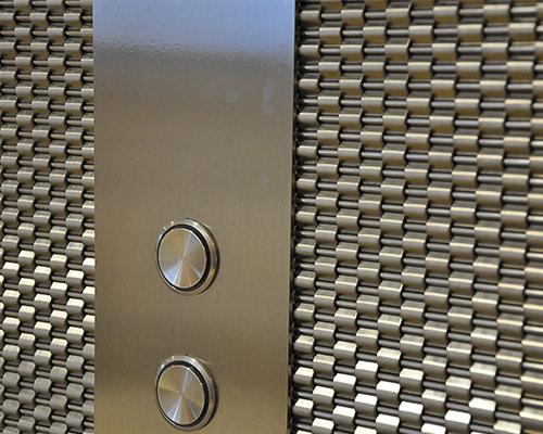 电梯轿厢装饰网-浩通金属丝网