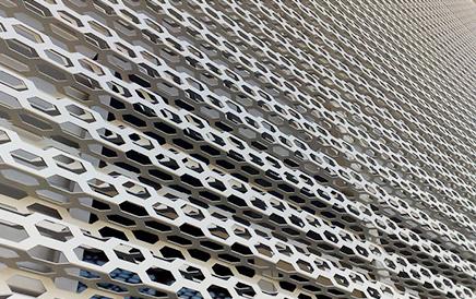 铝板冲孔装饰网