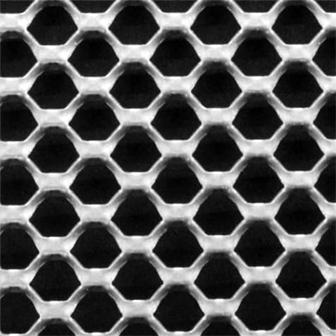 铝板拉伸装饰网不同的开孔率展示