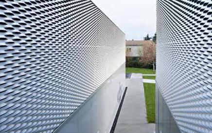铝板拉伸装饰网效果展示