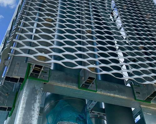 铝板拉伸装饰网-浩通金属丝网