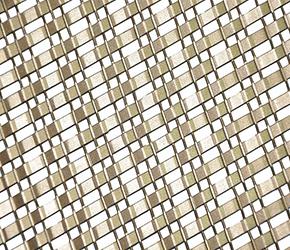 幕墙装饰网,幕墙扁钢编织网