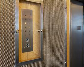 电梯内衬装饰铁丝网,电梯厅墙面装饰不锈钢编织网,浩通金属丝网