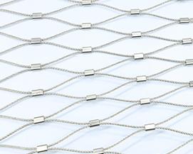 不锈钢绳网装饰网-浩通金属丝网